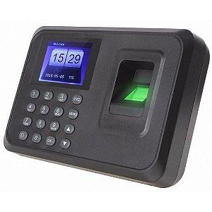 Relógio Controle de ponto Biométrico Digital Português USB