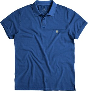 POLO BASIS PIQUET / AZUL