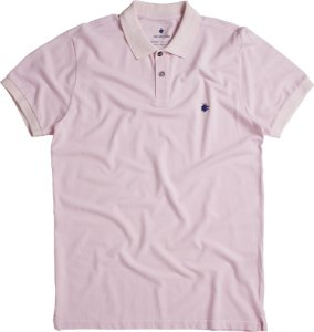 POLO BASIS PIQUET STONE / ROSA