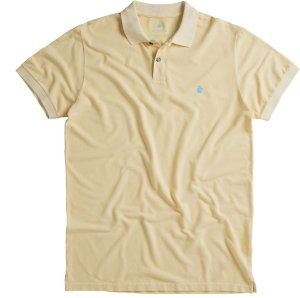 POLO BASIS PIQUET STONE / AMARELO