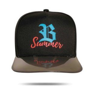 BONÉ SNAPBACK SUMMER BLACK