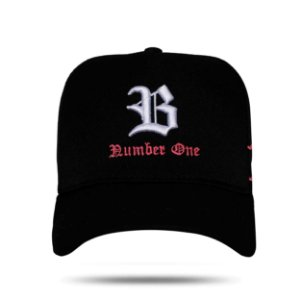 BONÉ SNAPBACK BASIC NUMBER ONE BLACK