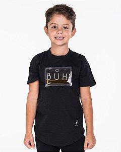 T-SHIRT BÚH PLASTIC GEL PRETO KIDS