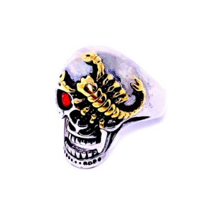 ANEL DEBYMAN SKULL AND SCORPION