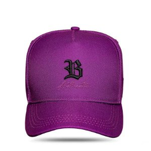 BONÉ SNAPBACK AUTHENTIC ROXO