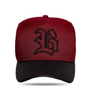 BONÉ SNAPBACK ABA PERFORED WINE