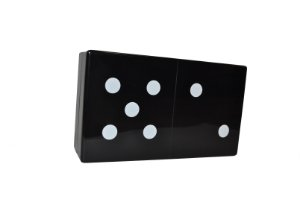 Clutch Black & White Domino