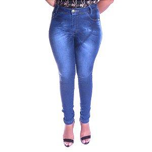 Calça Jeans Cintura Alta Feline 5001
