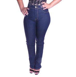 Calça Jeans Cintura Alta Feline 5003