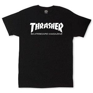 Camiseta Thrasher Skate Mag Preto