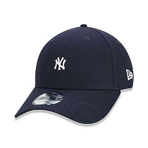 Boné New Era 9Forty MLB New York Yankees Mini Logo NY Marinho