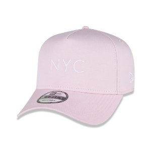 Boné New Era 9Forty A-Frame Core Candys New York City NYC Rosa