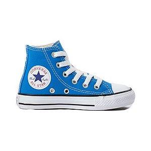 Tênis Converse CK04280029 Chuck Taylor All Star Kids Hi Azul Digital