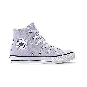 Tênis Converse CK04280028 Chuck Taylor All Star Kids Hi Lilás