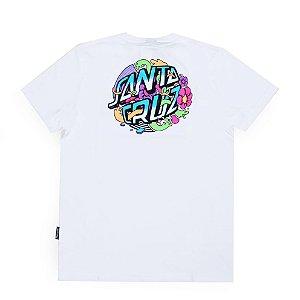 Camiseta Santa Cruz Stranger Dot Branca