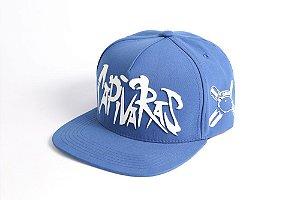 Boné Capivaras Skate Shop Snapback Azul