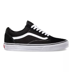 Tênis Vans Old Skool Black/White