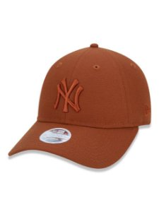Boné New Era Feminino 9Twenty MLB New York Yankees Laranja