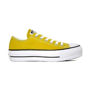 Tênis Converse CT09630014 Chuck Taylor All Star Lift Amarelo