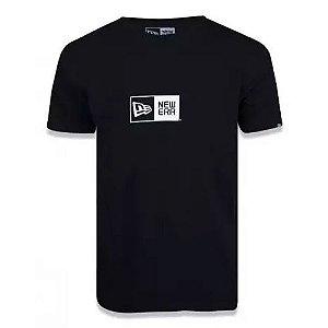Camiseta New Era Basico Essentials Preto