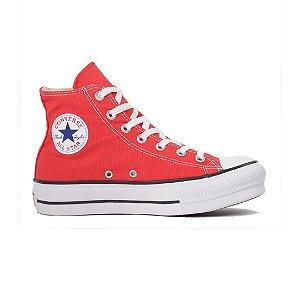 Tênis Converse CT04940002 Chuck Taylor All Star Lift Vermelho