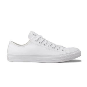 Tênis Converse CT08260001 Chuck Taylor All Star Monochrome Branco
