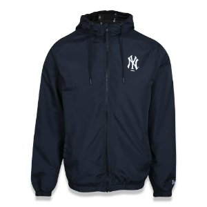 Jaqueta Corta Vento New Era (Windbreaker) New York Yankees MLB Preto