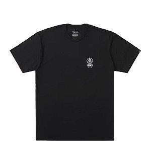 Camiseta Vans Thee Point SS Preto