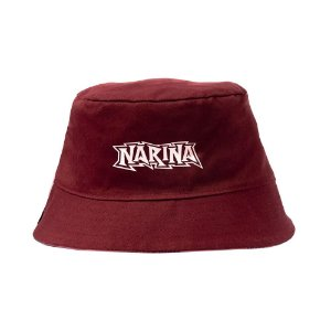 Bucket Narina Dupla Face Bordo/Floral