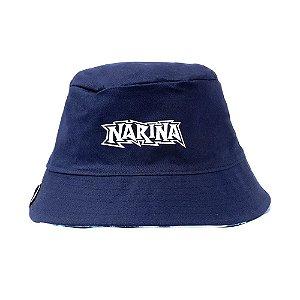 Bucket Narina Dupla Face Azul/Tie Dye