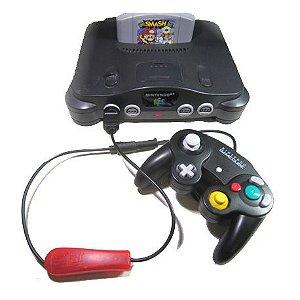 Adaptador de controle Game cube p/ Nintendo 64