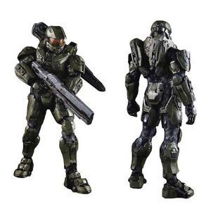 HALO MASTER CHIEF - 1/6 FIGURE - 3a - Threea - Lacrado