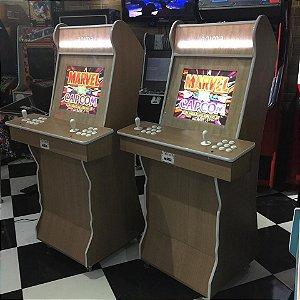 Arcade Amadeirado Modelo Anima tela 19
