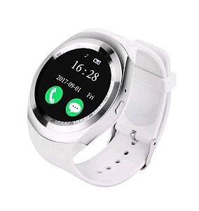 958889e54da Relógio Bluetooth Smartwatch X6 Android Ios Sony Samsung Bt - BRANCO ...