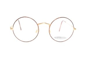 Óculos Redondo Pequeno - Estilo John Lennon Marca: Giorgio Occhiali - Oculos Raro