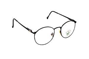 Óculos Redondo Metal Preto - Modelo: BHPC35 - Marca: Pólo Club - Beverly Hills