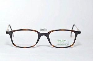 Óculos Infantil - Fibra de Carbono - Marca: Benneton ref: 3803 - Tartaruga -Atacado de Óculos