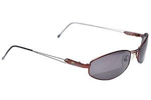 Óculos de Sol Masculino Benetton - Formula 1 - Metal Vermelho - Modelo: 7592