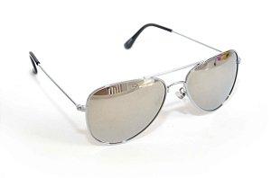 Oculos de Sol aviador espelhado - Oculos Barato para revenda - atacado de oculos de sol