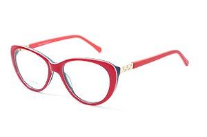 Armação para óculos feminino gatinho vermelho -  BC8182 - Atacado de Óculos - Óculos para óticas