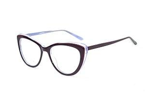 Armação para óculos feminino gatinho -  JC6289 C3 - Atacado de Óculos - Óculos para óticas