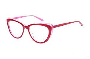 Armação para óculos feminino gatinho -  JC6289 C5 - Atacado de Óculos - Óculos para óticas