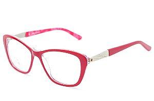 Armação para óculos feminino gatinho -  ZZ4034 vermelho - Atacado de Óculos - Óculos para óticas