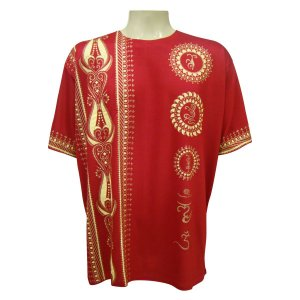 Camiseta XG - Mandala Mehndi