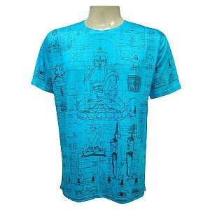 Camiseta Manga Curta - Estética Budista