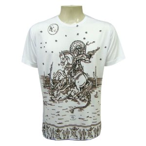 Camiseta - São Jorge Cordel
