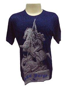 Camiseta São Jorge Dorê