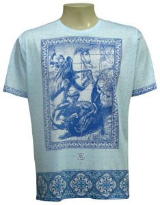 Camiseta - São Jorge Azulejo