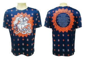 Camiseta XG - São Jorge Monograma