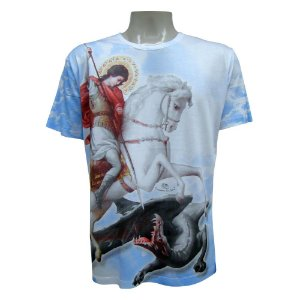 Camiseta - São Jorge Crepúsculo